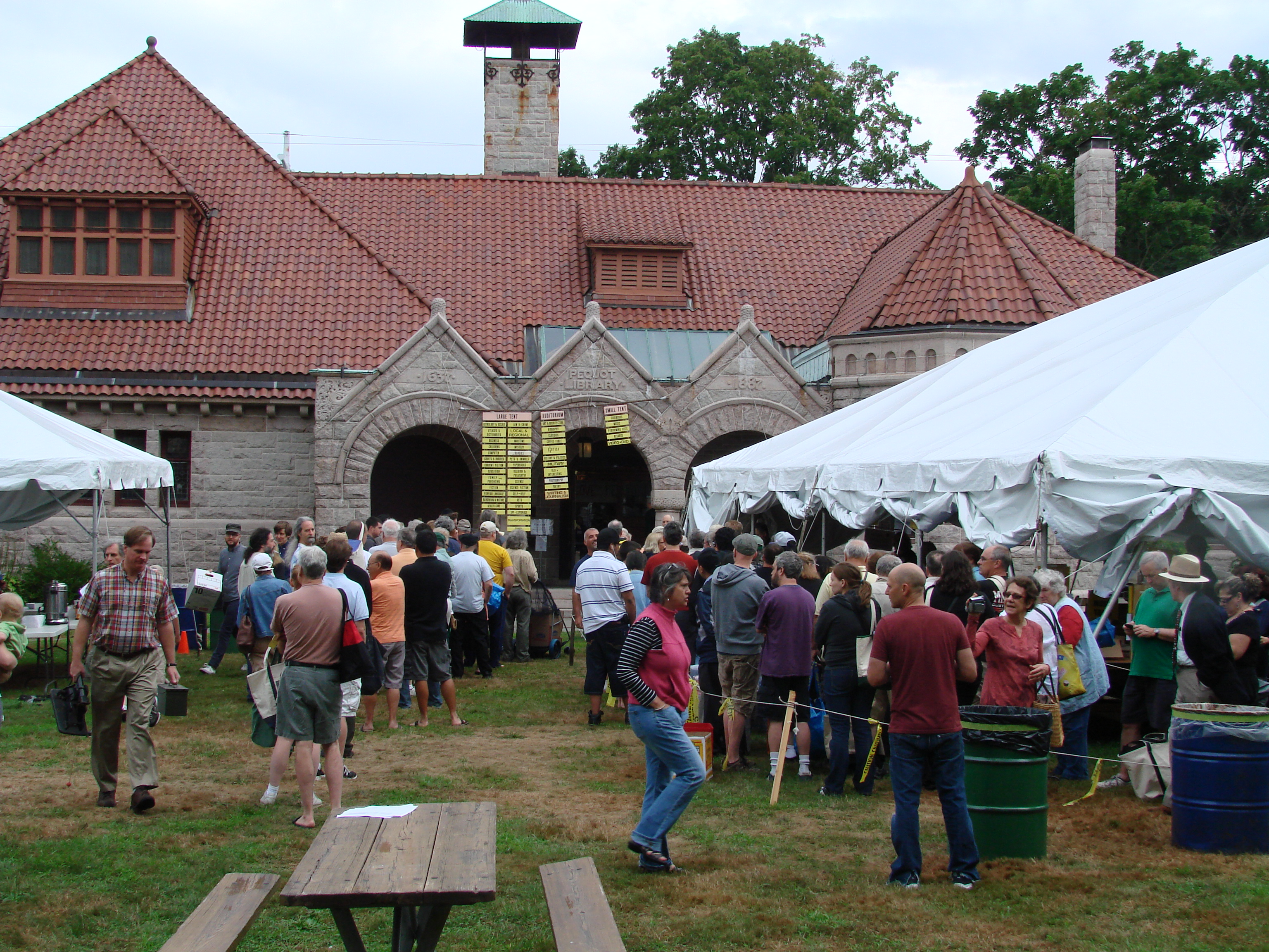 Pequot Library's 54th Annual Summer Book Sale starts Friday, July 25, and runs through Tuesday, July 29.