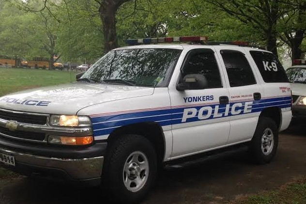 Yonkers police are seeking information on two connected robberies.