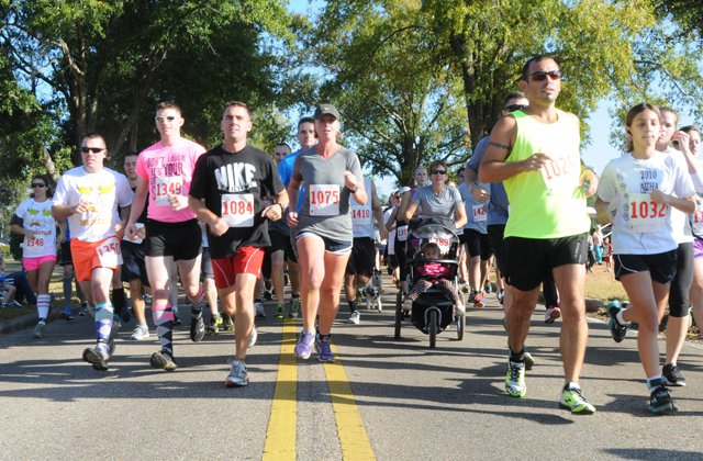 Jamie's 5K Run For Love will be the last event of Armonk's Outdoor Art Show.