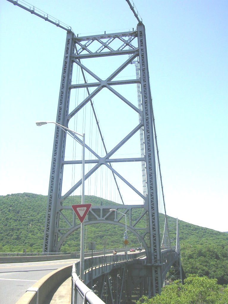 A woman reportedly survived jumping from the Bear Mountain Bridge.