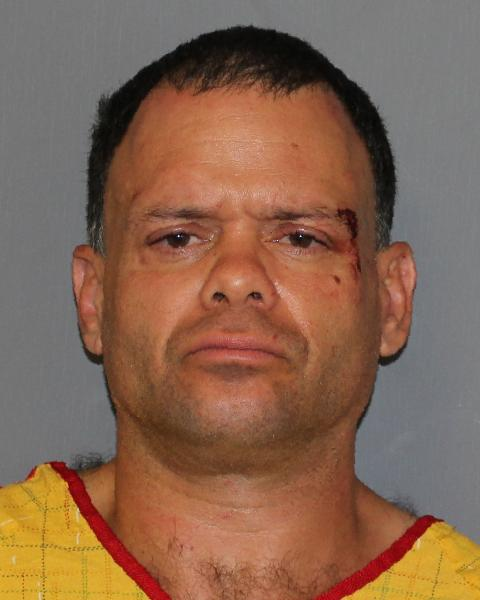 State police charged a Montrose man with assaulting two troopers outside a Cortlandt deli.