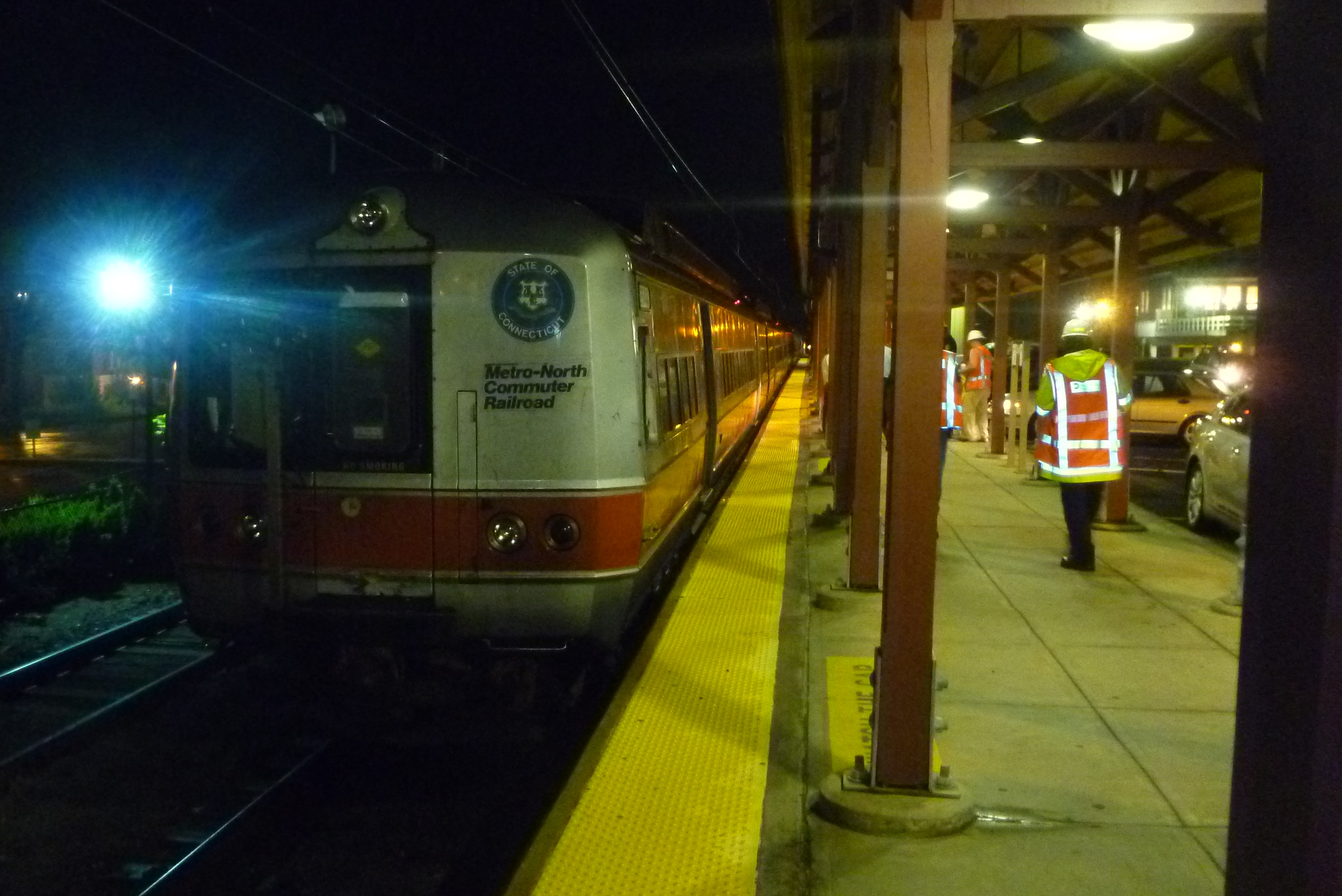 The MTA is close to suspending Metro-North service in advance of Hurricane Sandy. A final decision will be made Sunday.