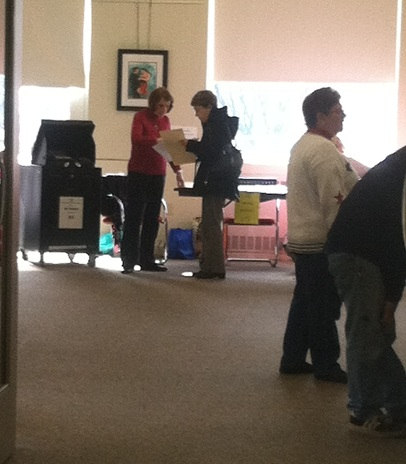 Voter turnout was high in Mount Kisco so far Tuesday morning, according to election officials.