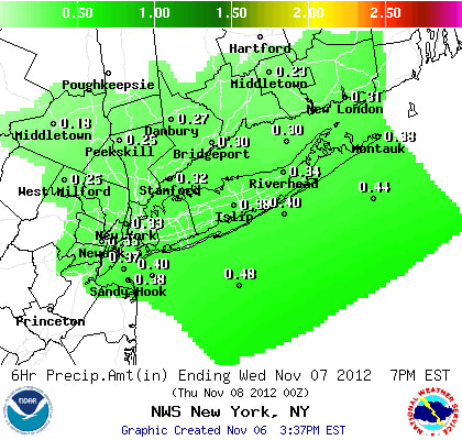 Snowy precipitation is likely on Wednesday and Thursday in Westchester County.