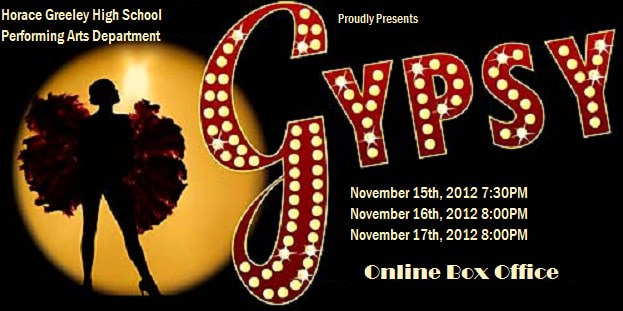 "Horace Greeley High School students will put on performances of ""Gypsy"" this weekend."