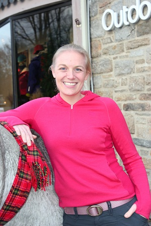 Kate Shirey of Outdoor Sports Center in Wilton