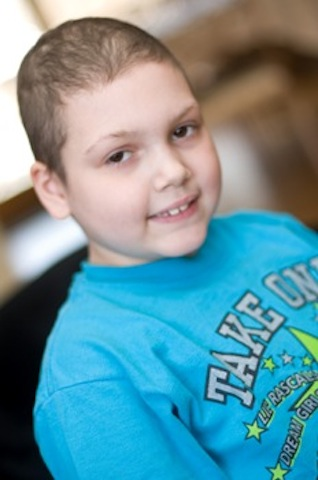 Sabrina Marciante, a South Salem resident with acute lymphoblastic leukemia, is one of two blood cancer survivors to be honored at the Leukemia & Lymphoma Society's Light the Night Walk on Tuesday in White Plains.