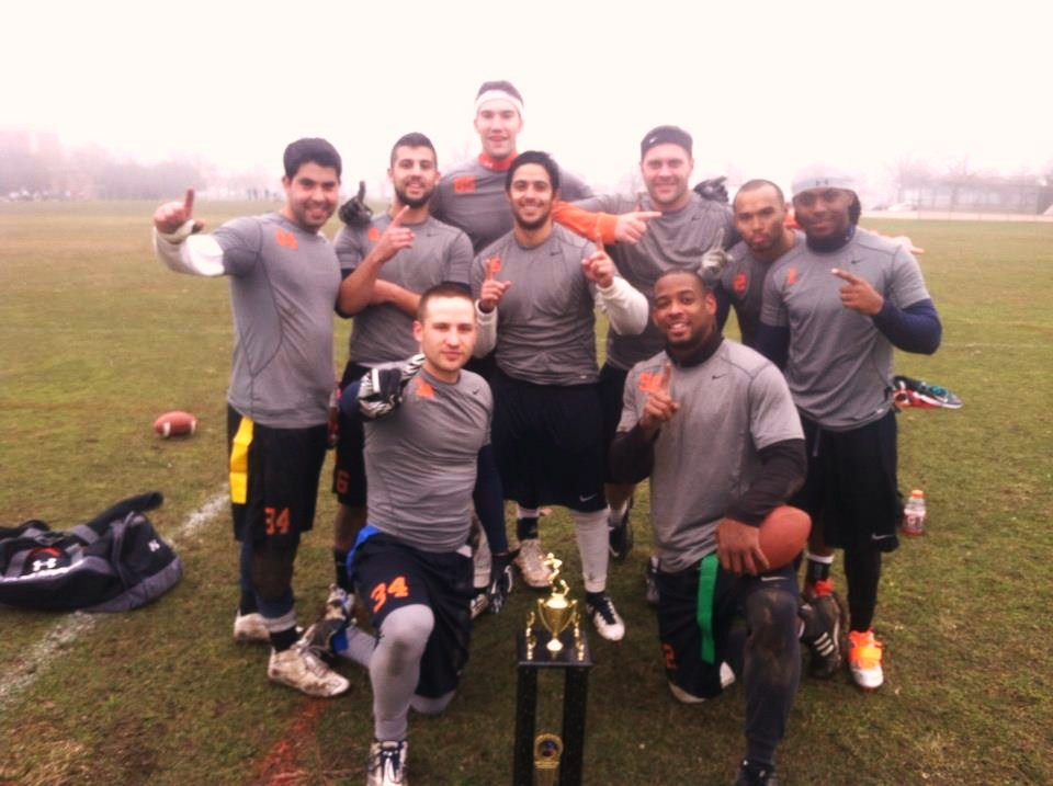 The Swarm, with players from Yonkers and Hastings-on-Hudson as well as the Bronx, won their second straight Wesatchester Flag Football League title.