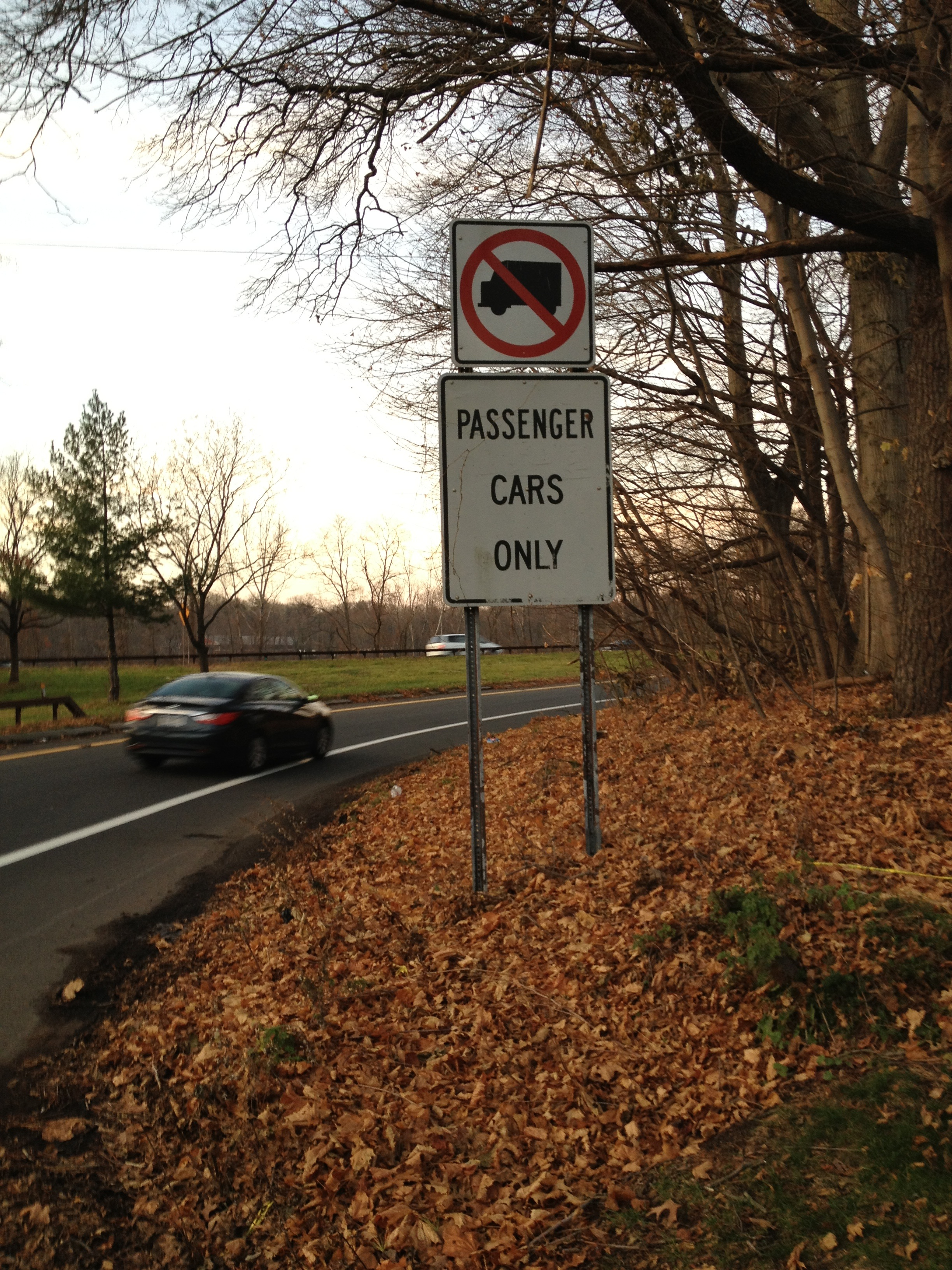 Despite warnings, truck drivers continue to drive on Westchester County parkways.