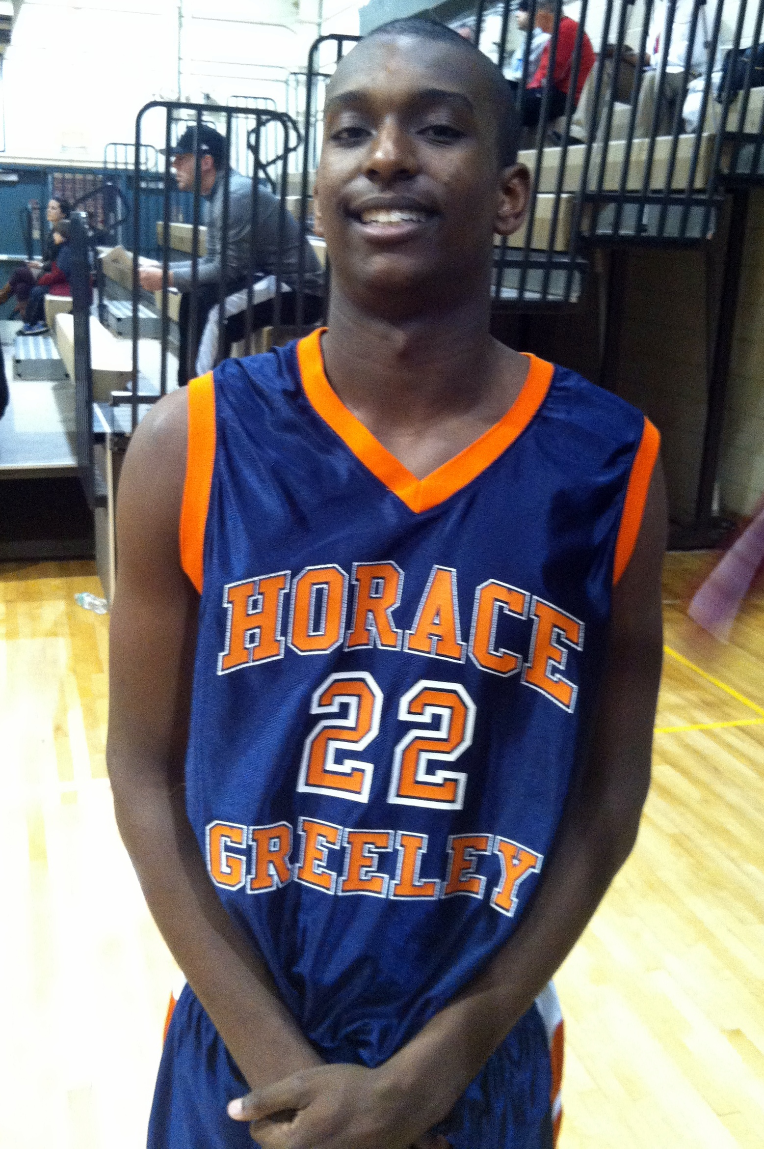 Horace Greeley High School senior Harrison Brown hopes to lead his team to the County Center in the playoffs.