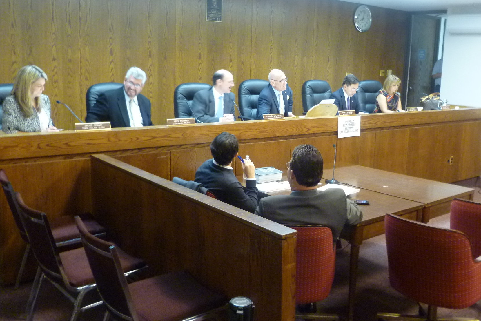 The Harrison 2013 town/village budget was passed Thursday night.