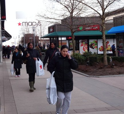 Day after Christmas sales and exchanges brought plenty of shoppers to Yonkers malls Wednesday.