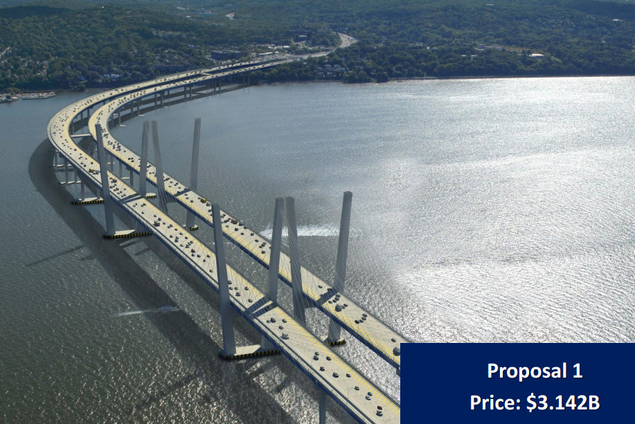 A $3.1 billion contract for the new Tappan Zee Bridge has been approved by the state comptroller.