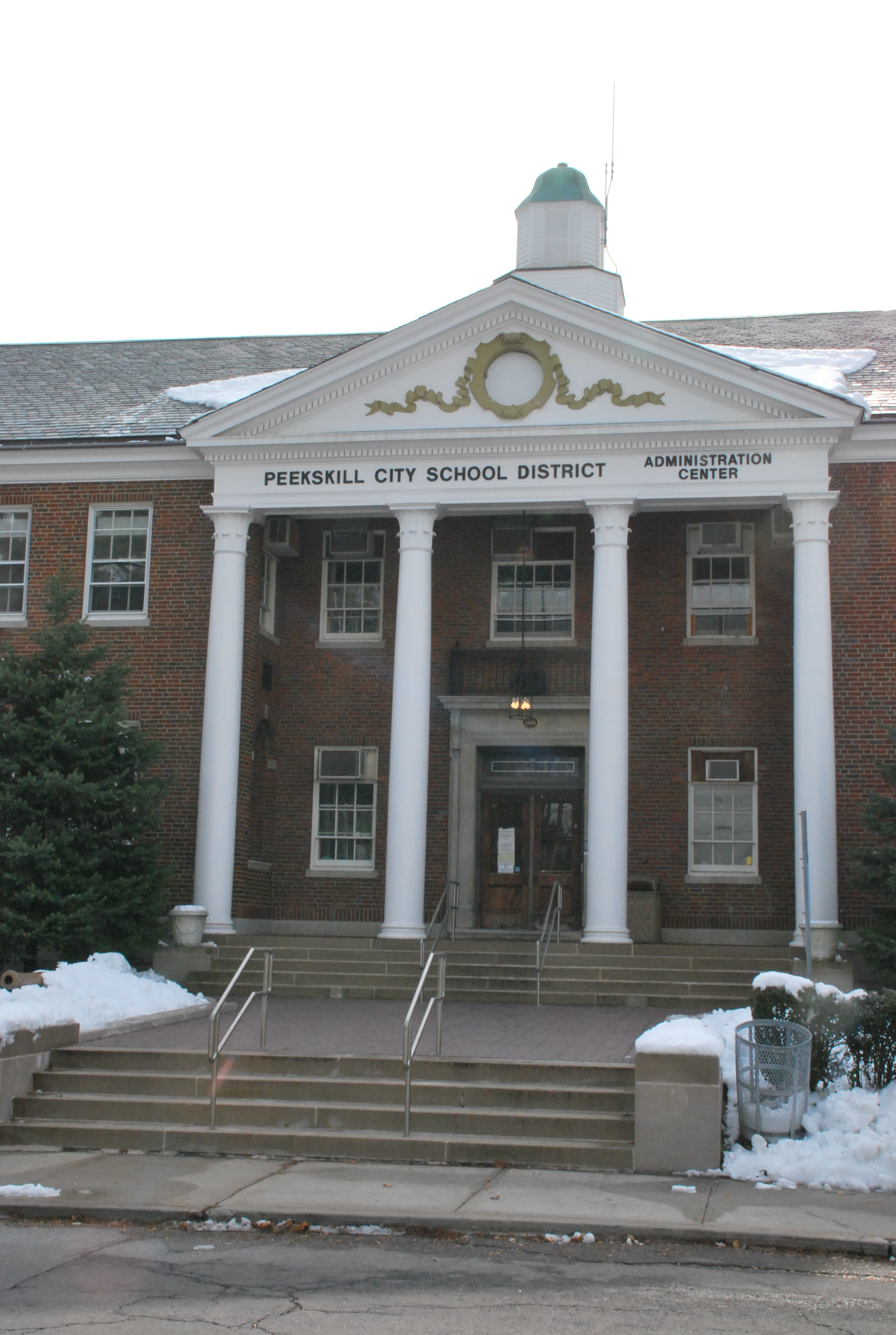 Peekskill City School District officials are investigating how 34 students received credit for work they did not do.