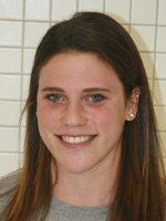 Maddy Berkman, a MIddlebury College sophomore and graduate of Briarcliff Manor High School, has been a major contributor in four events for the women's swim team.