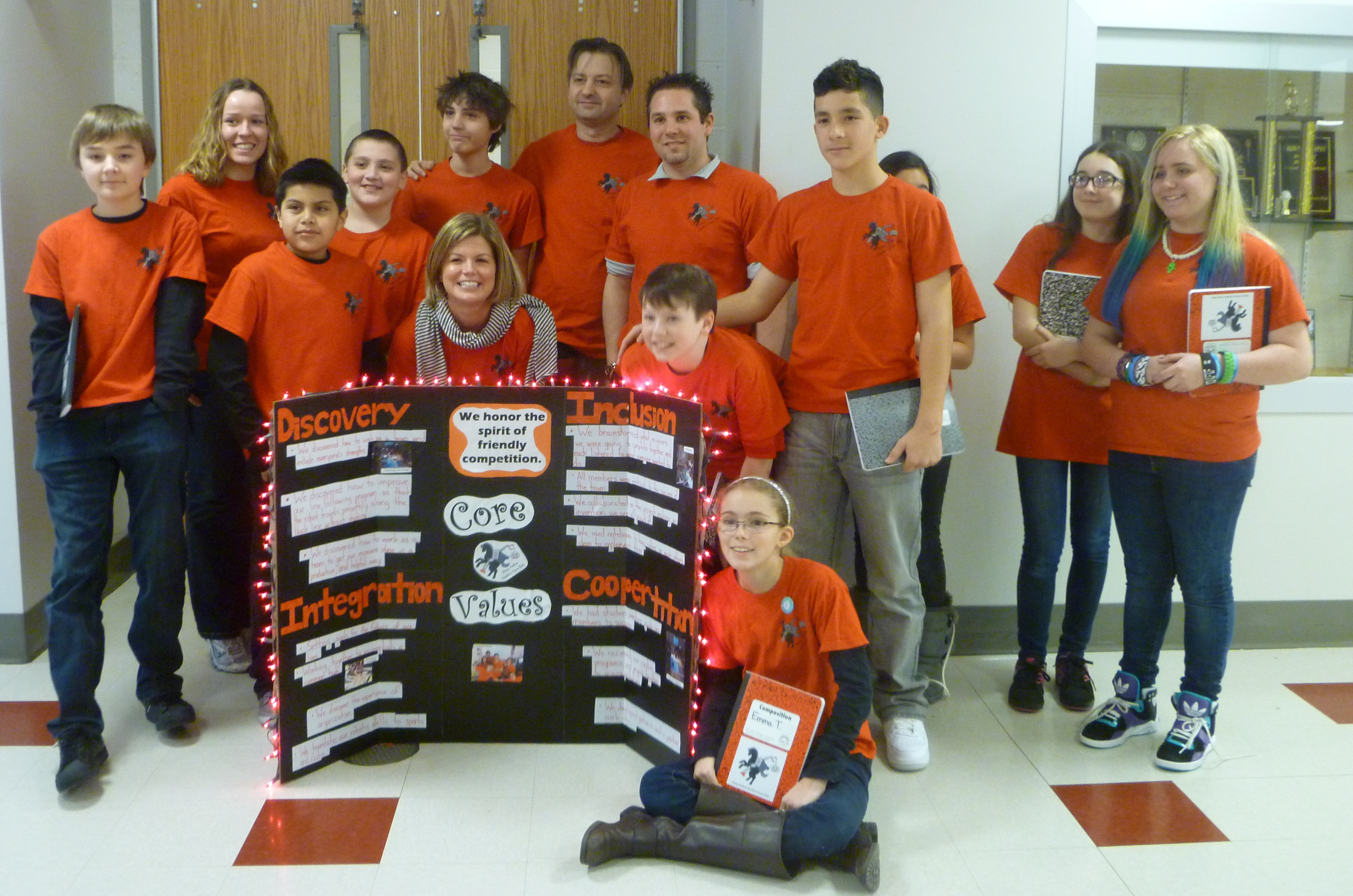 The Sleepy Hollow Headless Horse-Bots robotics team competed in the fifth annual Hudson Valley First Lego League Tournament on Saturday.
