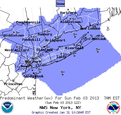 This weekend may bring some snow to Westchester.