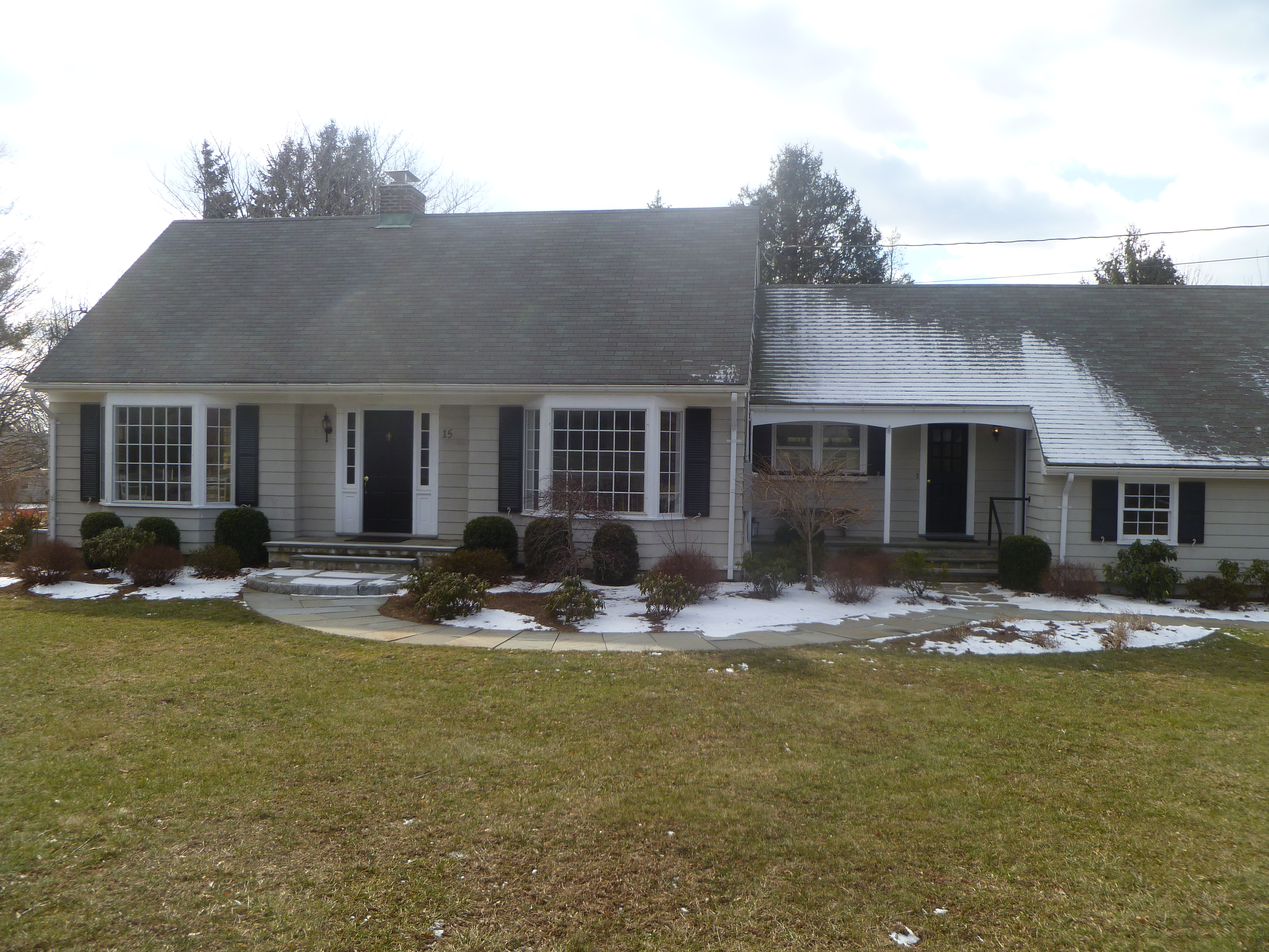 The house at 15 Far Horizon Drive, Easton, sold for $435,000.