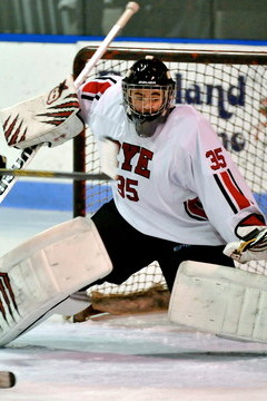 The Hendrick Hudson High School hockey team must contend with Aidan Talgo and No. 2 Rye on Wednesday in the second round of the Section 1 Division II hockey playoffs.