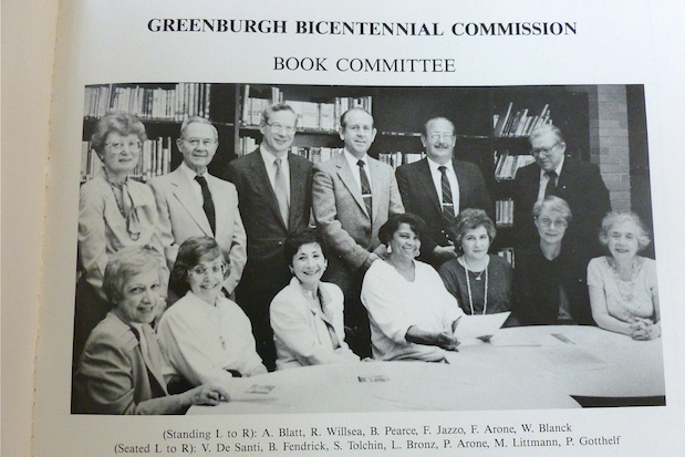 In 1988, a Book Committee was put together to celebrate Greenburgh's 200th anniversary. For the 225th anniversary this year, the Greenburgh Celebration Planning Committee will put together a photo exhibit of Greenburgh's past town supervisors.