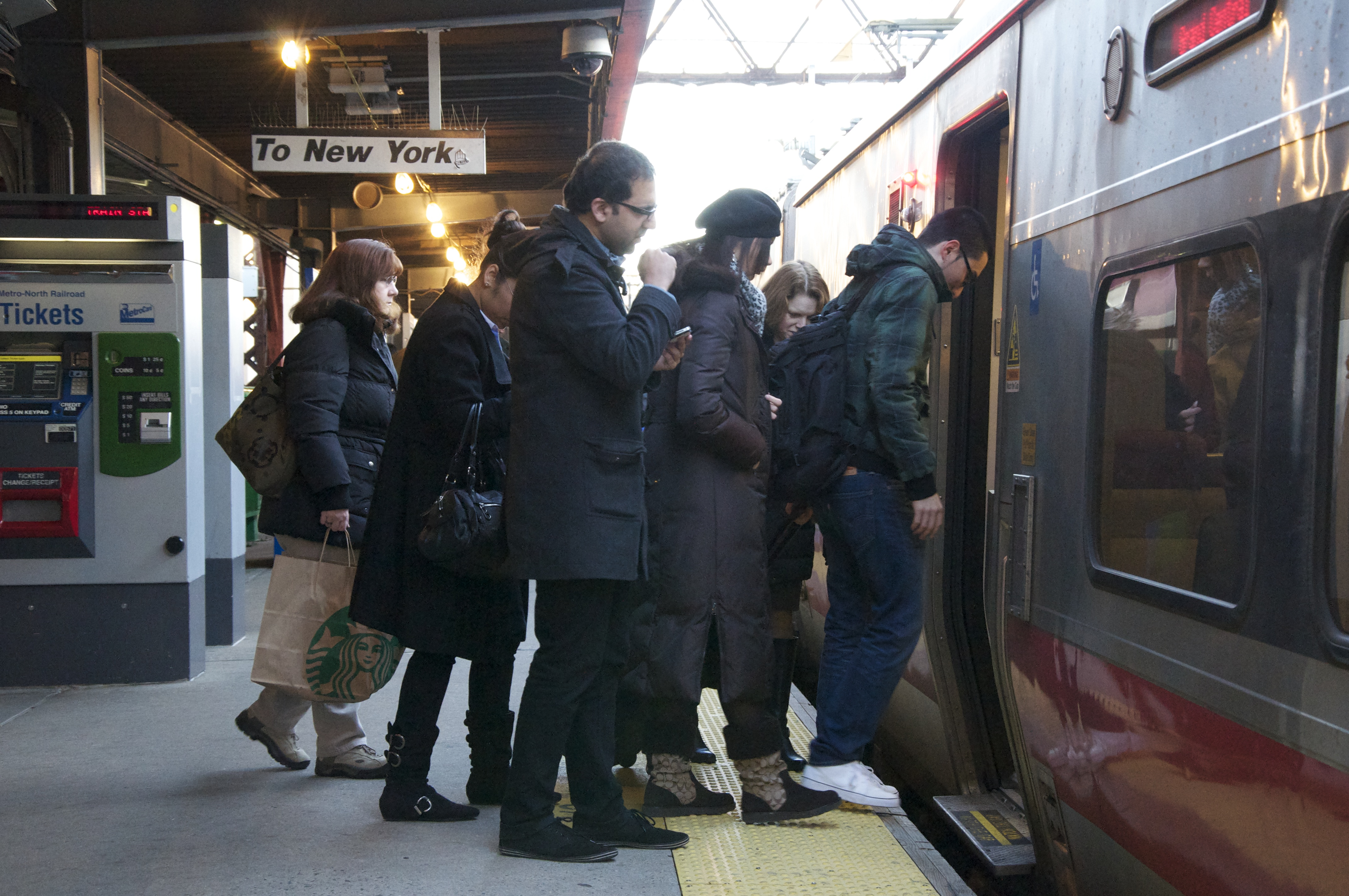 Metro-North will add 174 trains to off-peak and weekend service on the Hudson and Harlem lines.