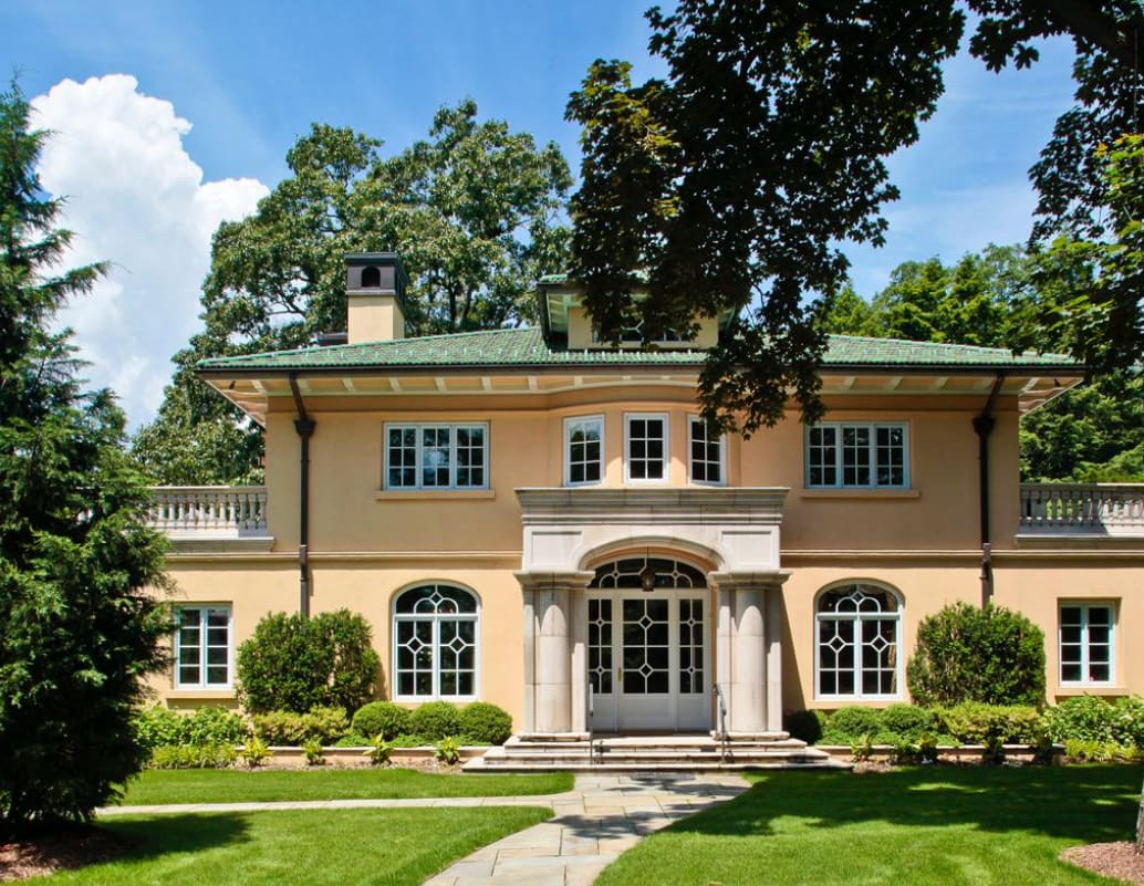 This Bronxville home is being shown for more than $3 million.