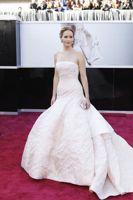 In a poll, Daily Voice readers voted Best Actress winner Jennifer Lawrence best dressed at the 2013 Oscars.