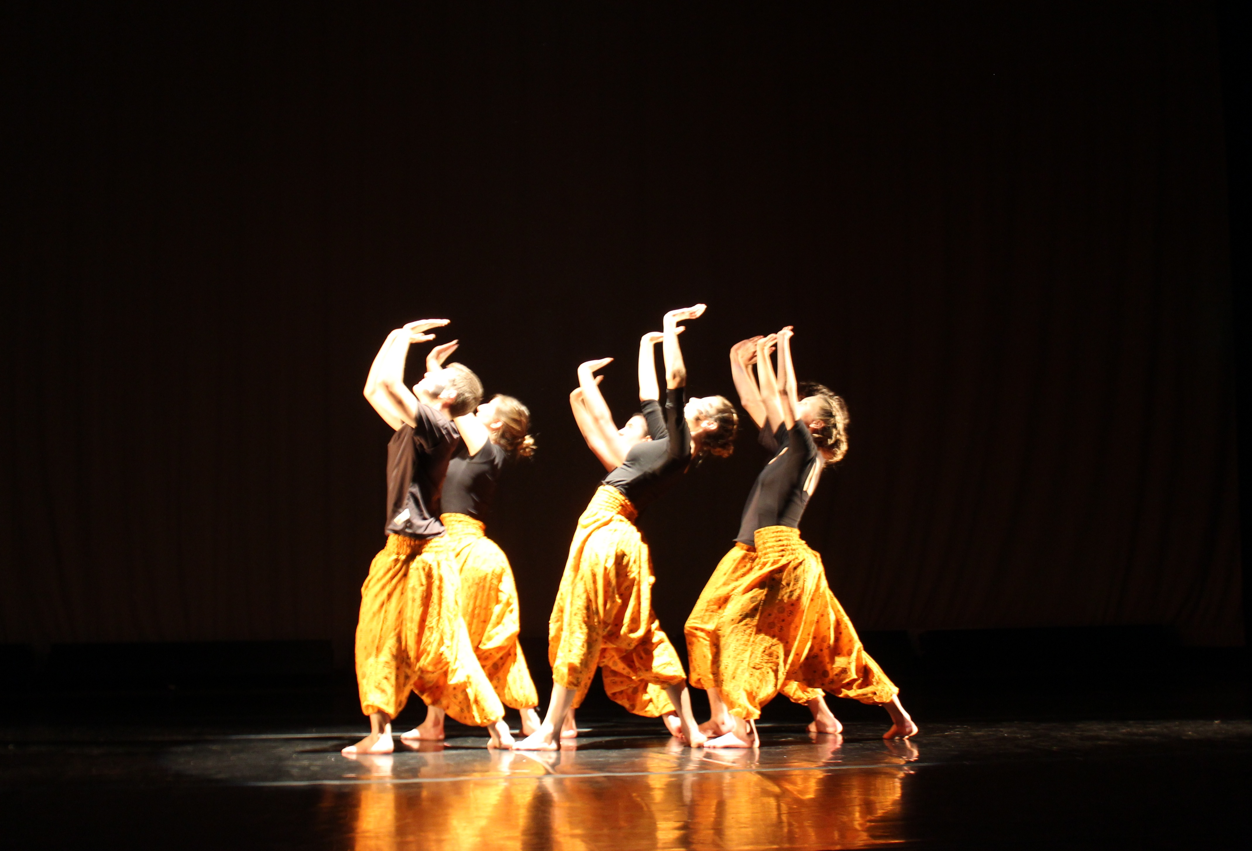 "Sonya Levine's dance was featured in the fall PACE performance, ""Kinesthesia."""