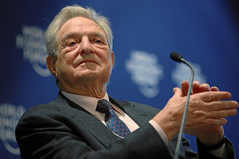 """George Soros of Katonah is Westchester County's richest resident, according to """"Forbes"""" magazine."""