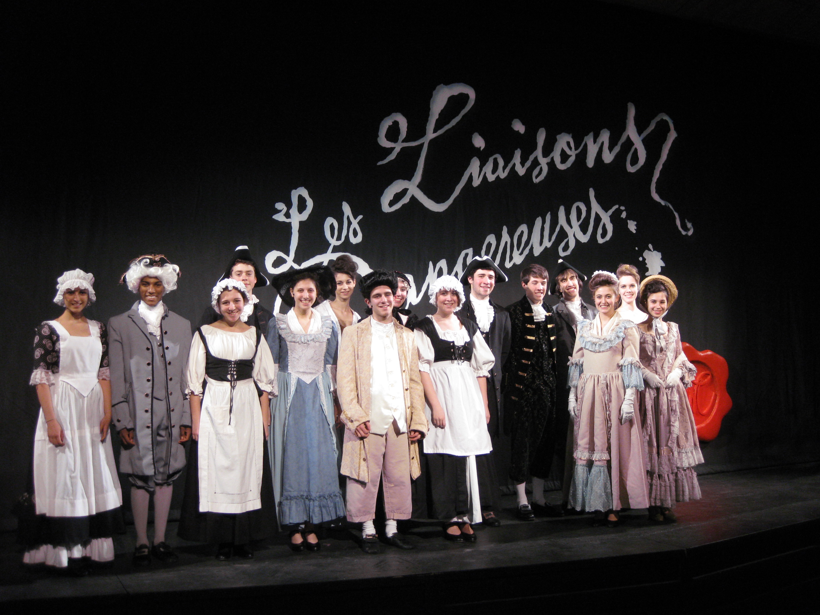"""The Greeley Theatre Company presents """"Les Liaisons Dangereuses"""" performances at 8 p.m. Friday and Saturday."""