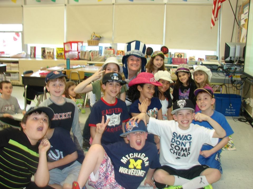 Eastchester students wore hats on Monday to support children battling cancer.