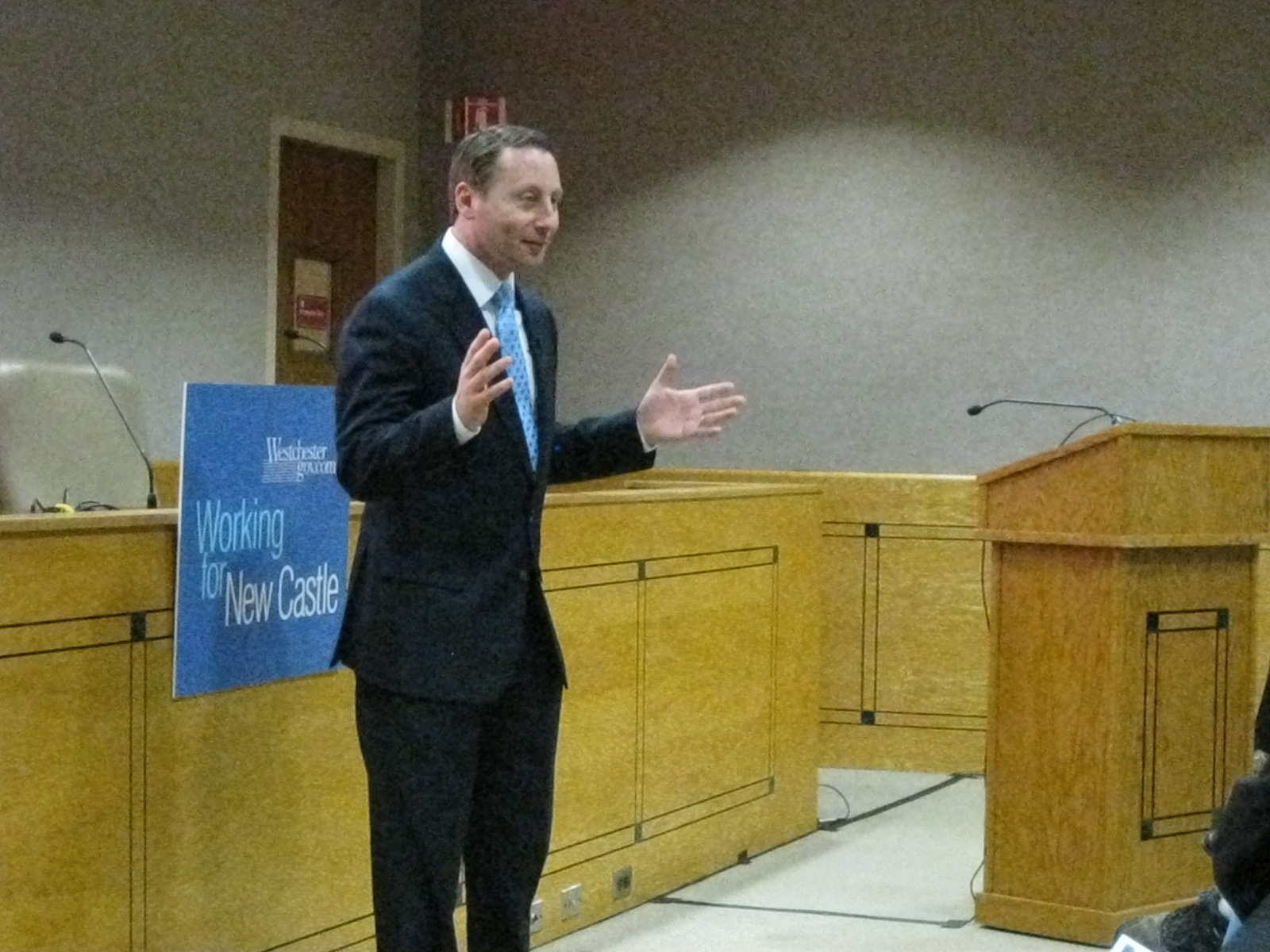 Westchester County has a lawsuit in federal court Friday to try to block the Department of Housing and Urban Development from reallocating $7.4 million in federal funds.