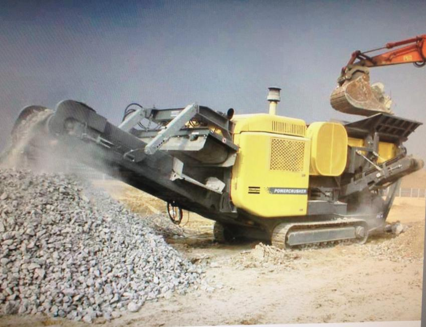 Jaw crusher for rent