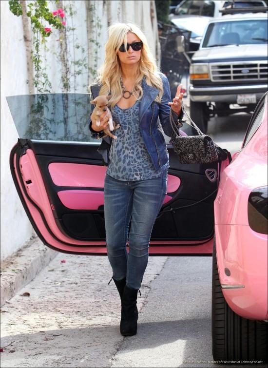 Celebrities cars pics