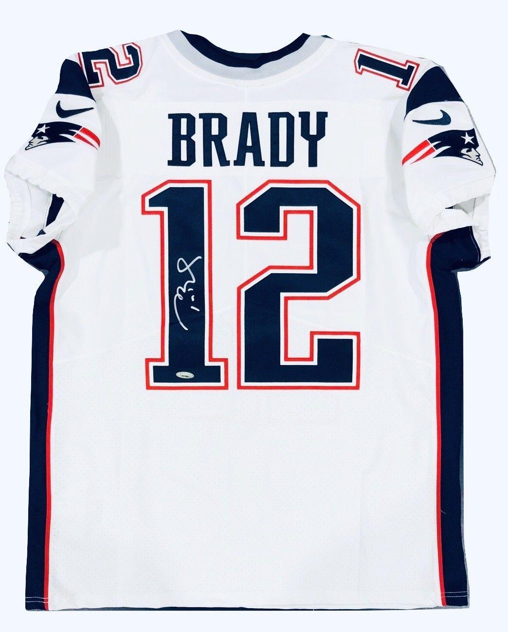 Tom brady premier white jersey