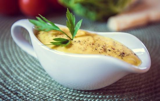 Горчичный соус для цезаря