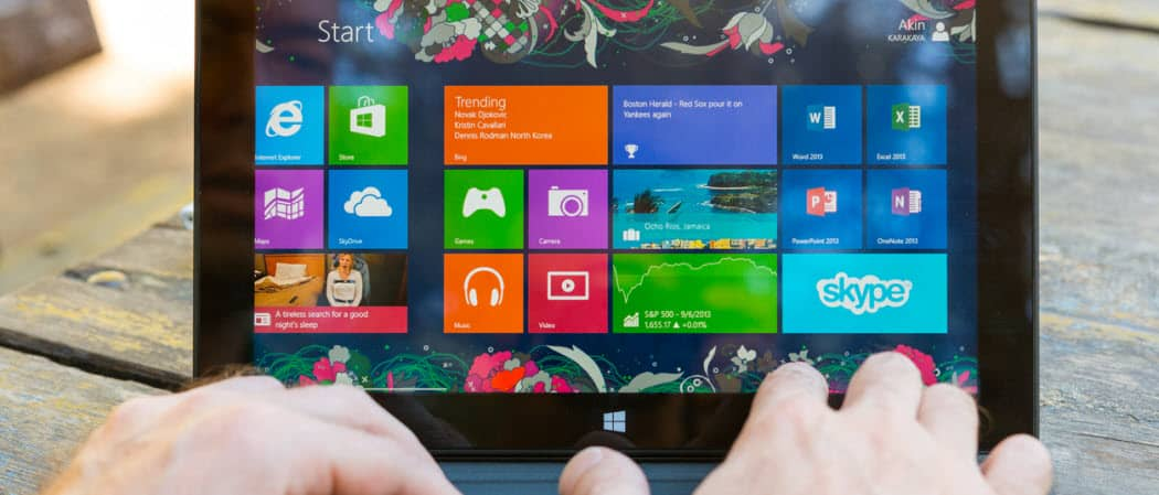 How to adjust startup programs windows 8