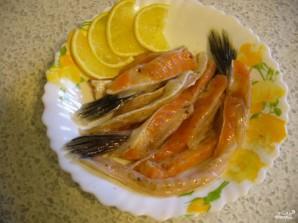 Рецепт засолки брюшек семги