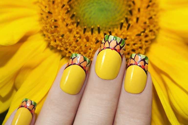 Cute ways to do your nails for summer