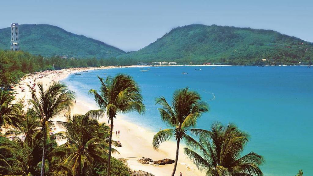 Пляж таиланд пхукет