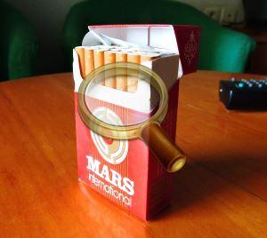Тунисские сигареты MARS International