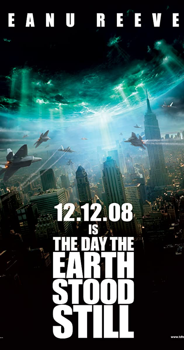 Day the earth stood still keanu reeves