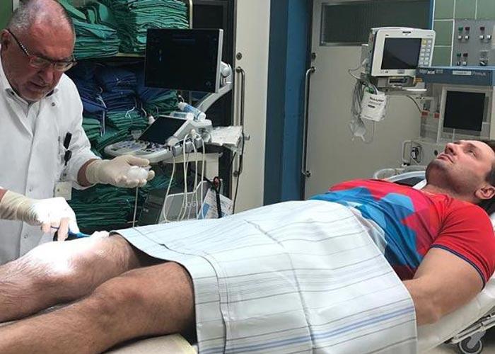 Эдгард Запашный операция на колено