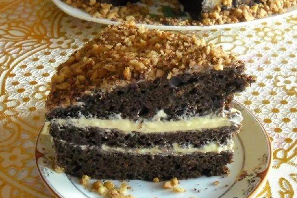 Шоколадный торт фантастика на кефире рецепт с фото