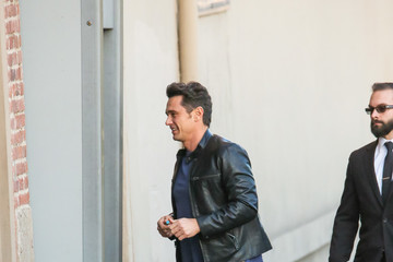 James Franco James Franco Hits 'Jimmy Kimmel Live'