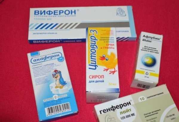 Противірусні засоби для дітей 2 років