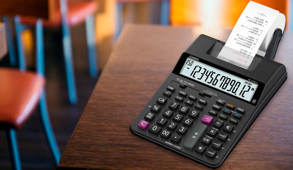 Калькулятор с печатающим устройством