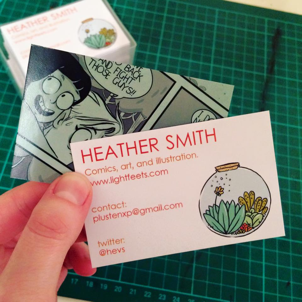 Heather smith february 2017 my comic arrived back a whole week before the con colourmoves