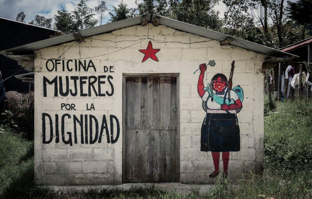 The Revolutionary Zapatista Murals of Oventic, Mexico