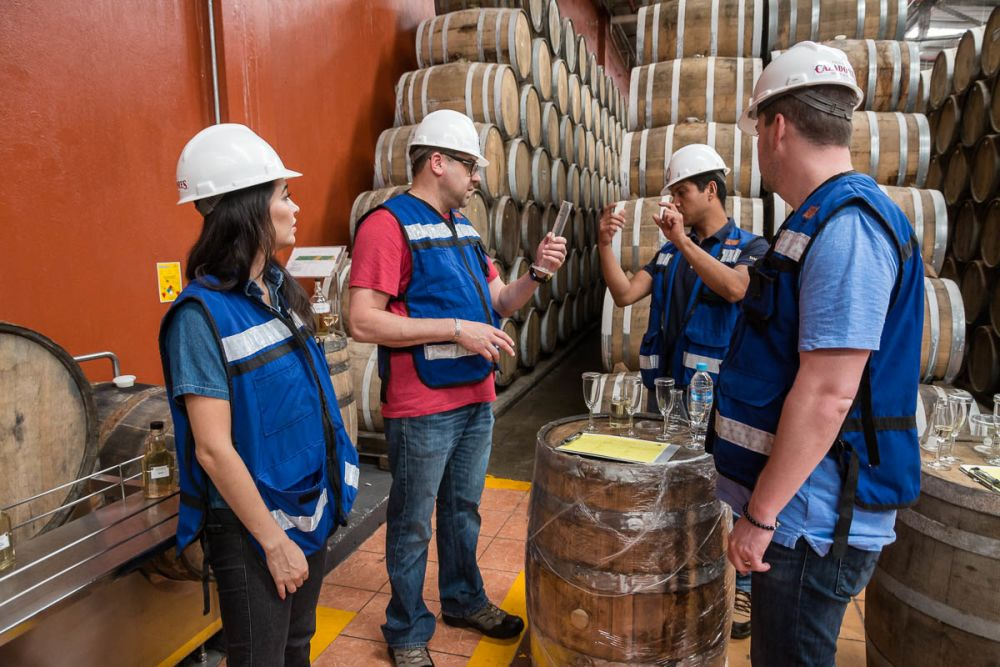 Tania Oseguera & Jesús Reza give advice about how to blend tequila